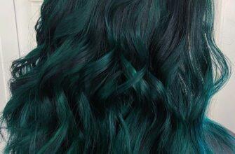 Emerald Green Ombre Hair
