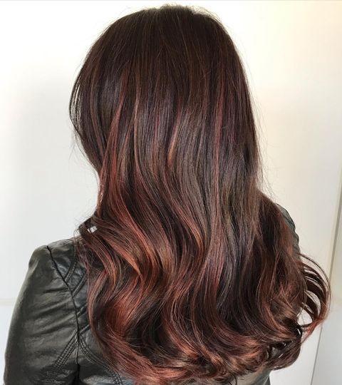 Mocha hair color