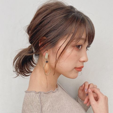 Short Japanese hairstyles for women