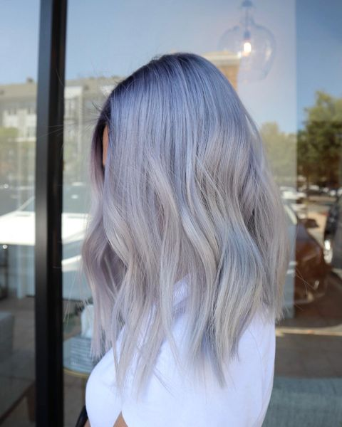 5 Cool Silver Blue Hair Ideas For You To Try!